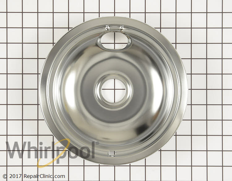 Burner Drip Bowl WPW10196405 Alternate Product View