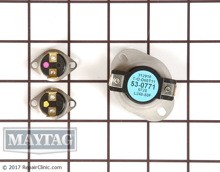 Thermal Fuse La 1053 Maytag Replacement Parts