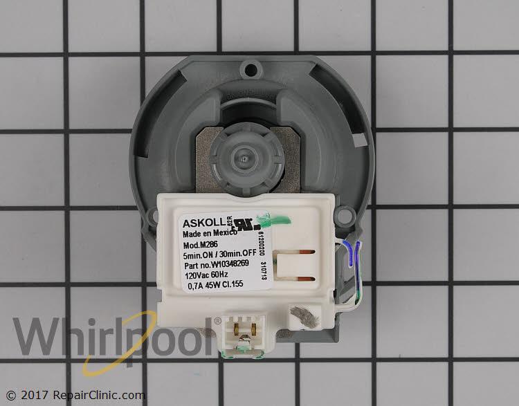 Drain Pump WPW10348269 Alternate Product View