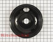 Burner Drip Bowl - Part # 1557767 Mfg Part # WPW10290350
