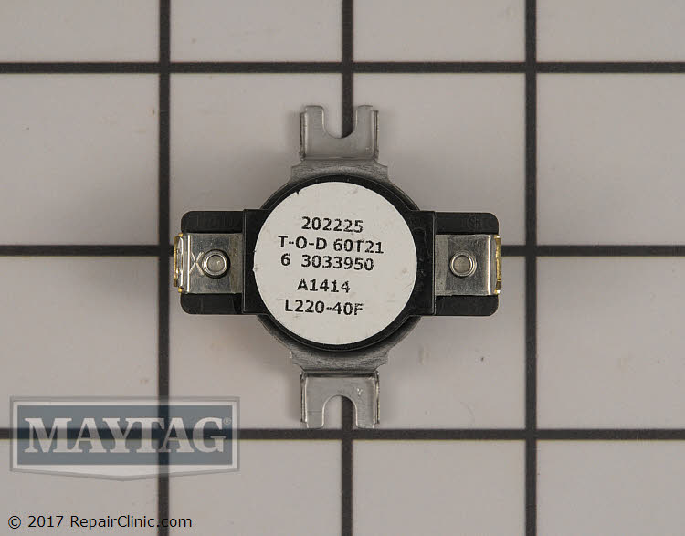 High Limit Thermostat WP303395 Alternate Product View