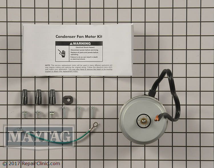 Condenser Fan Motor 833697 Alternate Product View
