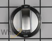 Control Knob - Part # 2118719 Mfg Part # WPW10415450