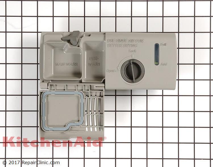 Detergent Dispenser Wpw10224430 Kitchenaid Replacement Parts