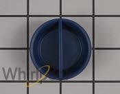 Rinse-Aid Dispenser Cap - Part # 2684857 Mfg Part # WPW10524920