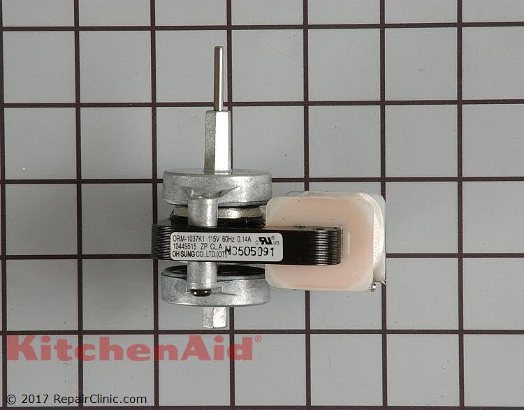 Evaporator Fan Motor Wpw10128551 Kitchenaid Replacement