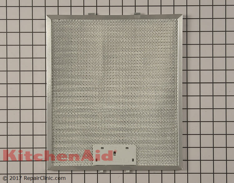 Grease Filter W10169961a Kitchenaid Replacement Parts