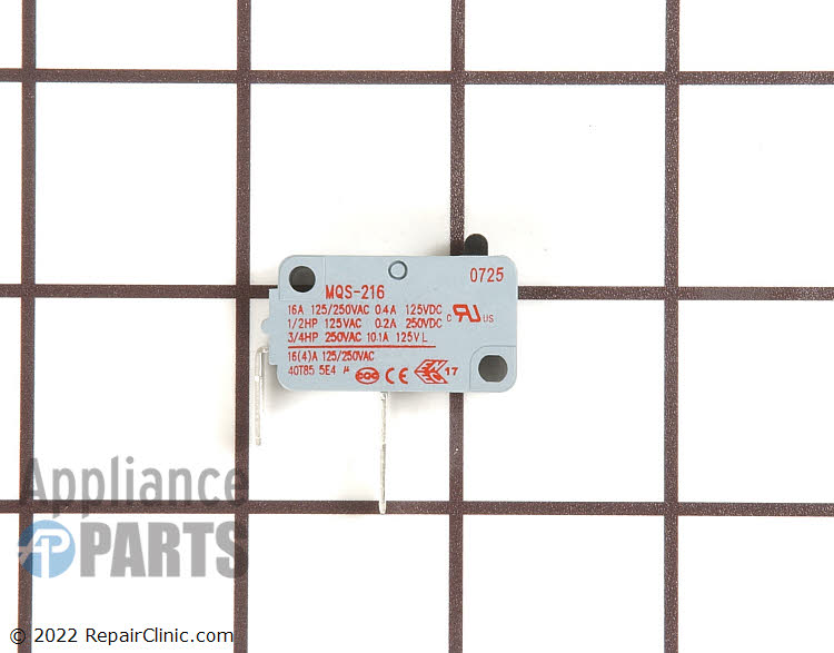 Interlock Switch WD21X10224      Alternate Product View