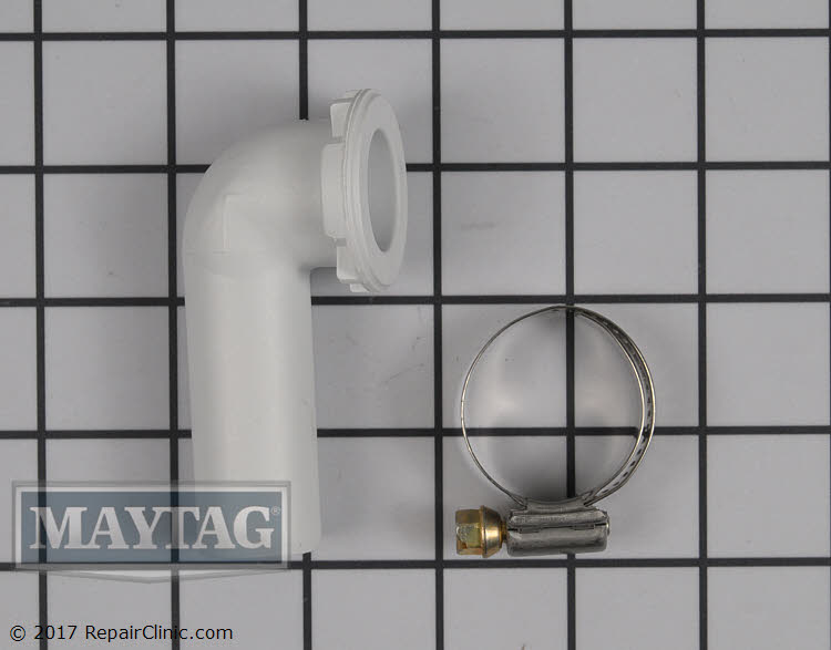 Drain Pipe 208847 Maytag Replacement Parts
