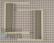 Window Side Curtain and Frame - Part # 1565782 Mfg Part # 5304476524