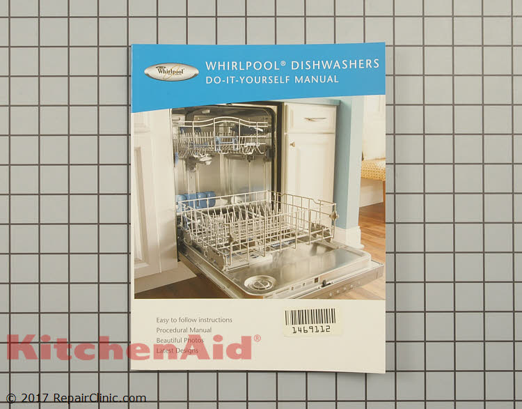 Repair Manual W10131216 Kitchenaid Replacement Parts