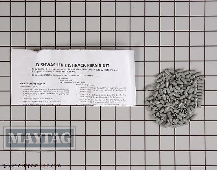 Dishrack Repair Kit 4396840RC       Alternate Product View