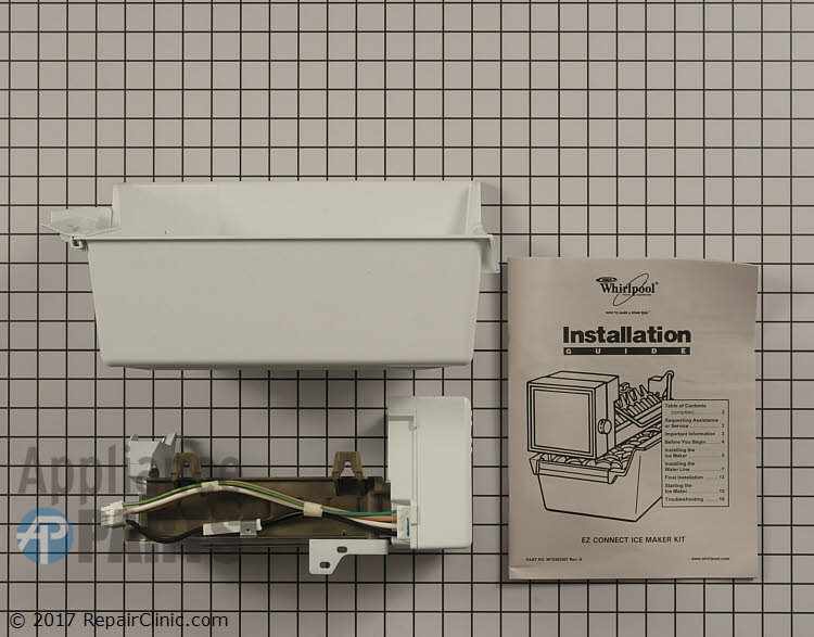 Ice Maker Assembly WPW10715709 Alternate Product View