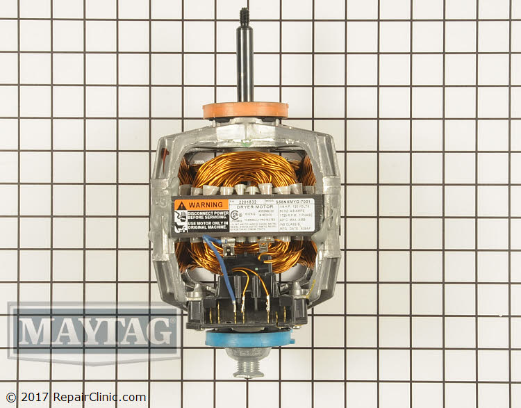 Drive Motor WP33002795 Alternate Product View