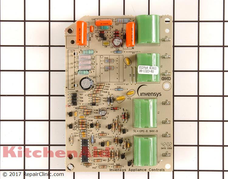 Control Module WPW10331686 | KitchenAid Replacement Parts