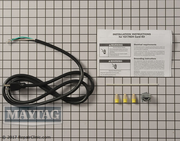 Power Cord 4317824 Alternate Product View