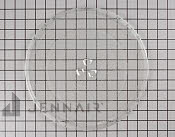 Glass Tray - Part # 870414 Mfg Part # WPR0130603