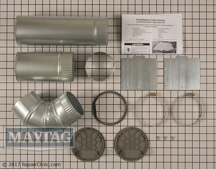 Side Venting Kit W10323246       Alternate Product View
