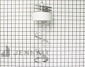 Ice Bucket Auger - Part # 1399604 Mfg Part # WP12740302