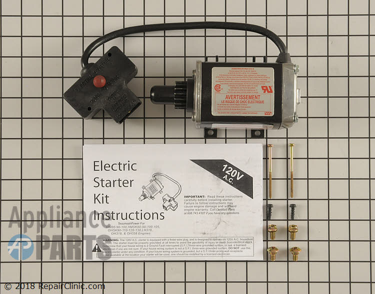 Electric Starter 72403600 Alternate Product View