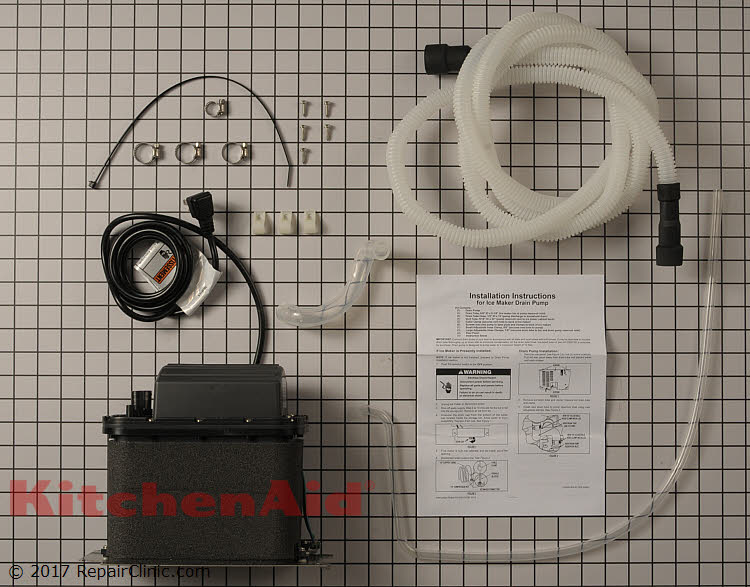 Drain Pump 1901a Kitchenaid Replacement Parts