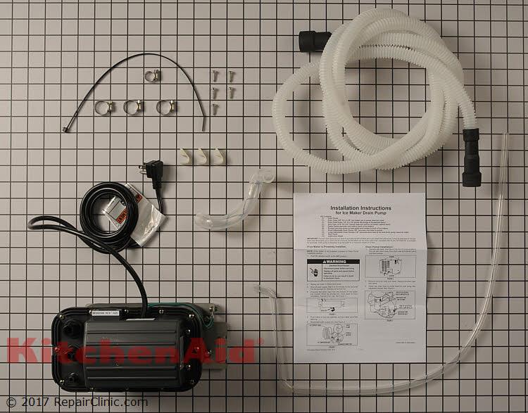 KitchenAid Ice Machine Drain Pump: Fast Shipping