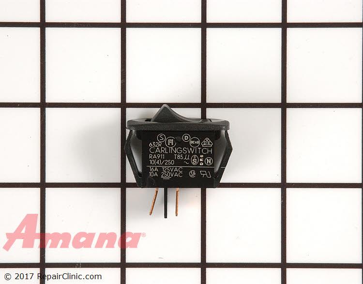 Rocker Switch WP31986601B Alternate Product View