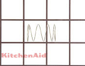 Button Spring - Part # 555872 Mfg Part # WP4158178