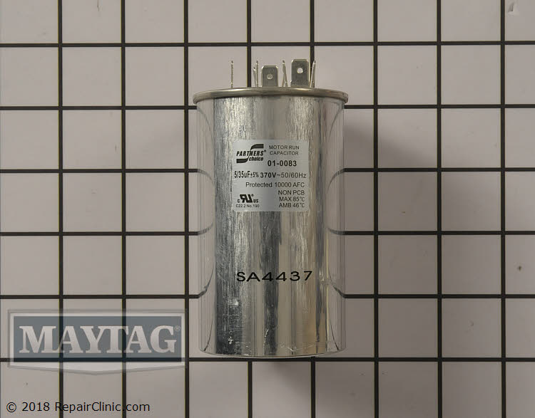 Dual Run Capacitor 01-0083 Alternate Product View