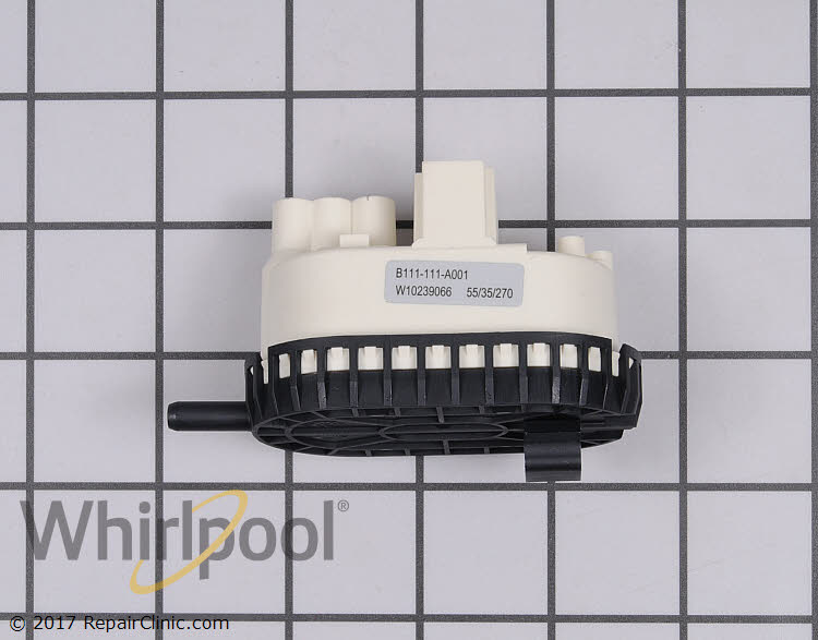 Pressure Switch Wpw10239066 Whirlpool Replacement Parts