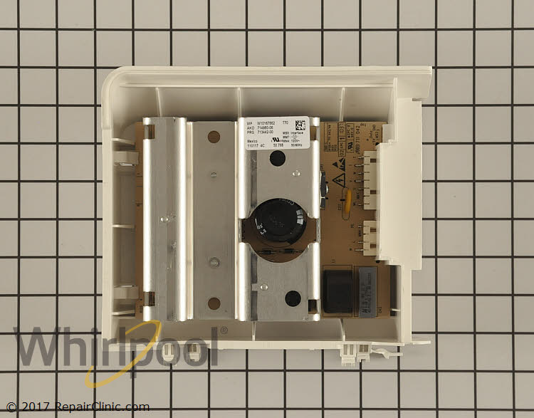 Motor Control Board WPW10384846 Alternate Product View