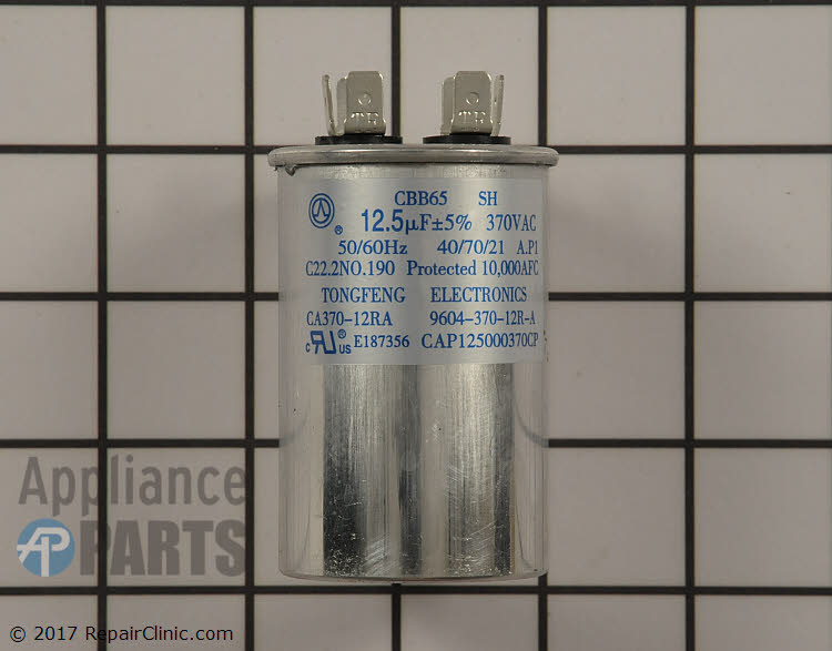 Run Capacitor CAP125000370RPP Alternate Product View