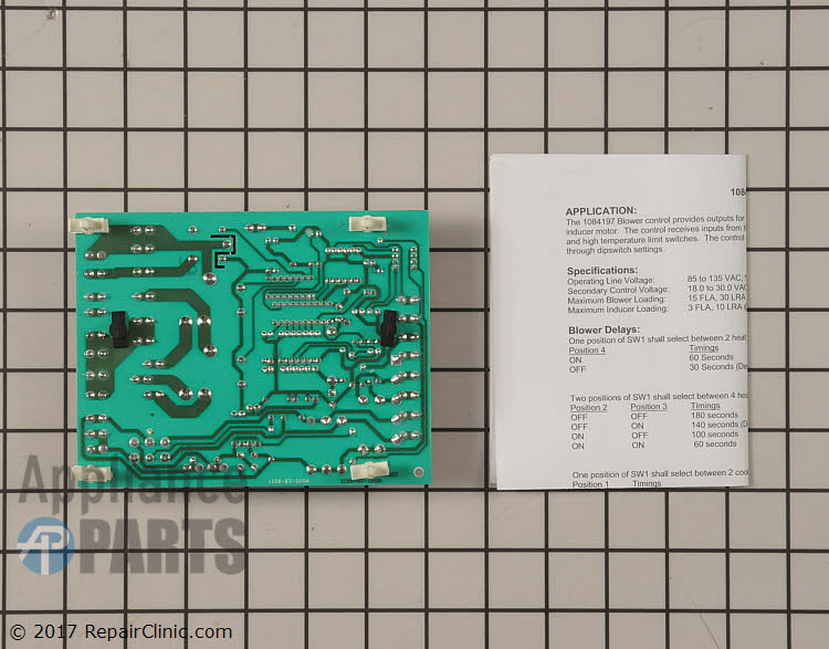 Control Board 1084197 Alternate Product View