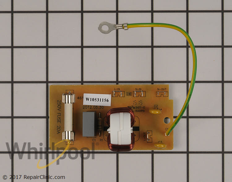 Noise Filter WPW10531156 | Whirlpool Replacement Parts