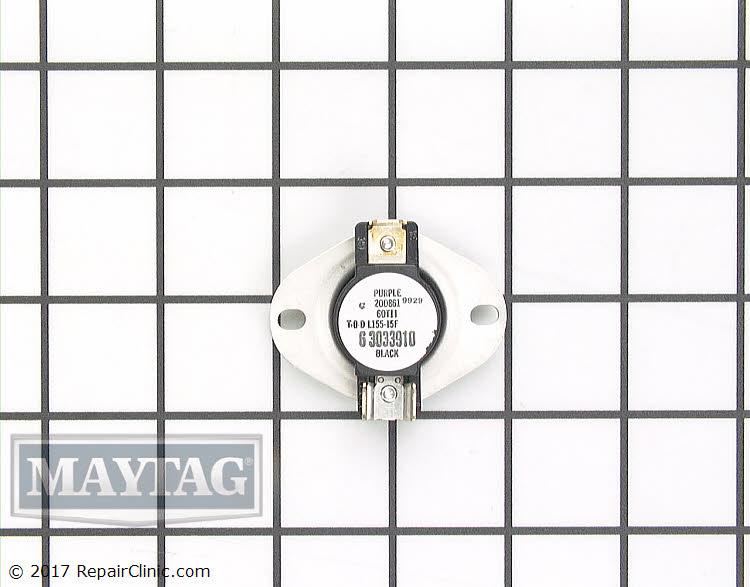 Cycling Thermostat WP33303391 Alternate Product View