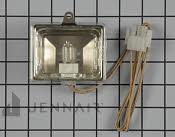 Halogen Lamp - Part # 1072767 Mfg Part # WP74009970