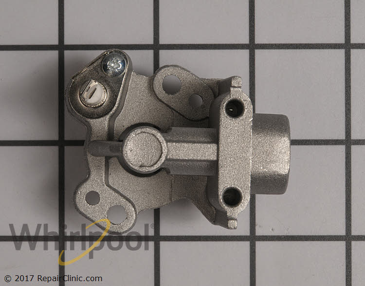 Surface Burner Orifice Holder WP9782447 Alternate Product View