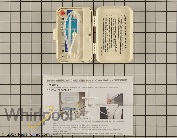 Tester WPW10106710 Alternate Product View