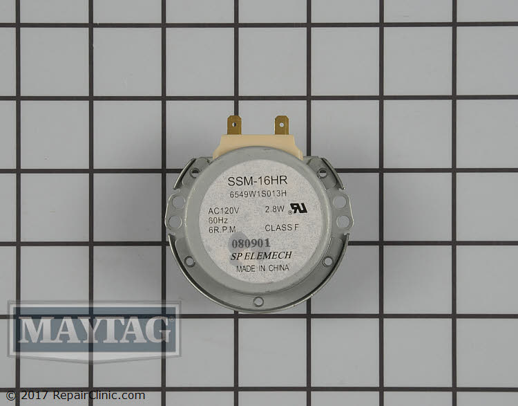 Turntable Motor WPW10192843 Alternate Product View