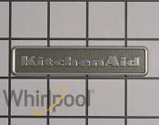 Nameplate - Part # 1873079 Mfg Part # WPW10243391