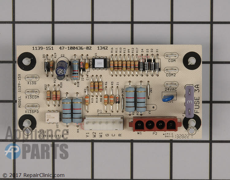 Control Board 47-100436-02 Alternate Product View