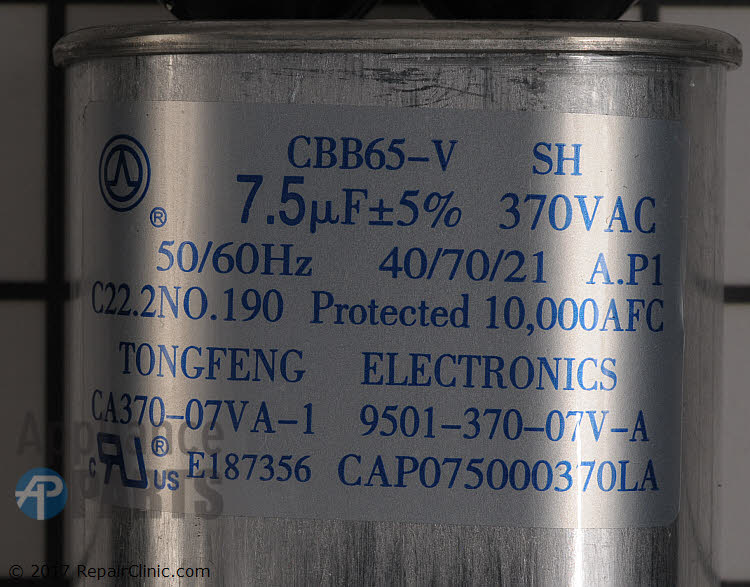 Capacitor CAP075000440LA Alternate Product View