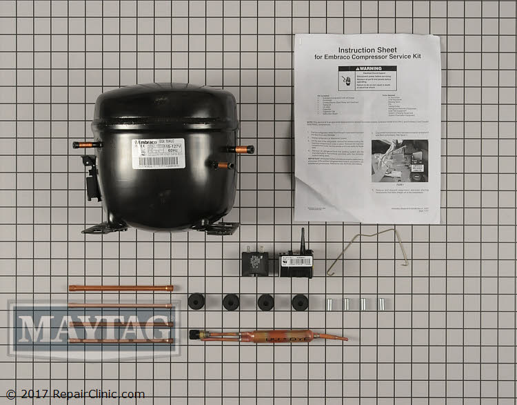 Compressor W10160407 Alternate Product View