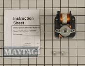 Exhaust Fan Motor - Part # 997946 Mfg Part # 12002065