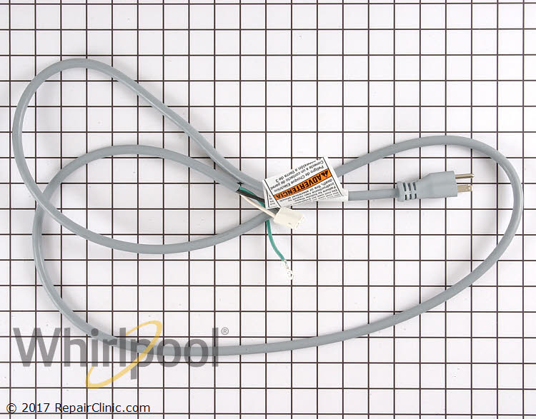 Power Cord WP8183009 Alternate Product View