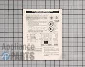 Installation Instructions - Part # 496325 Mfg Part # 316105805
