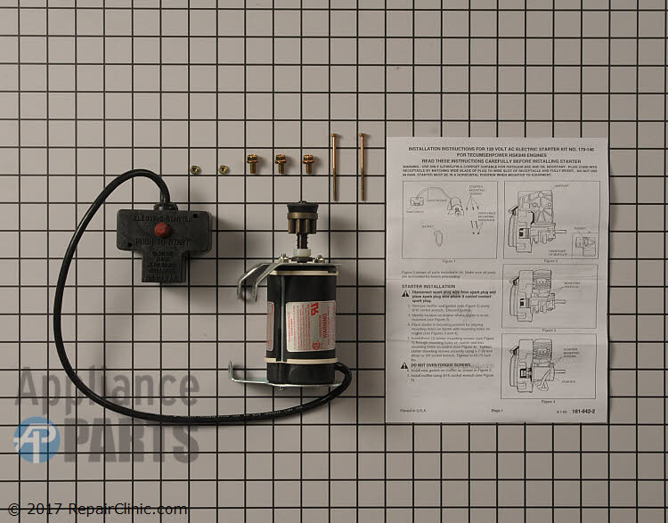 Electric Starter 03803500 Alternate Product View