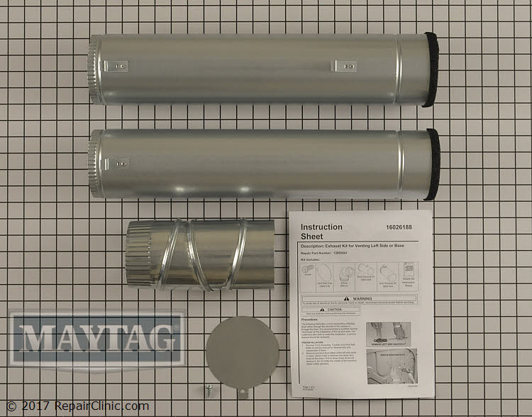 Side Venting Kit 12002641 Alternate Product View