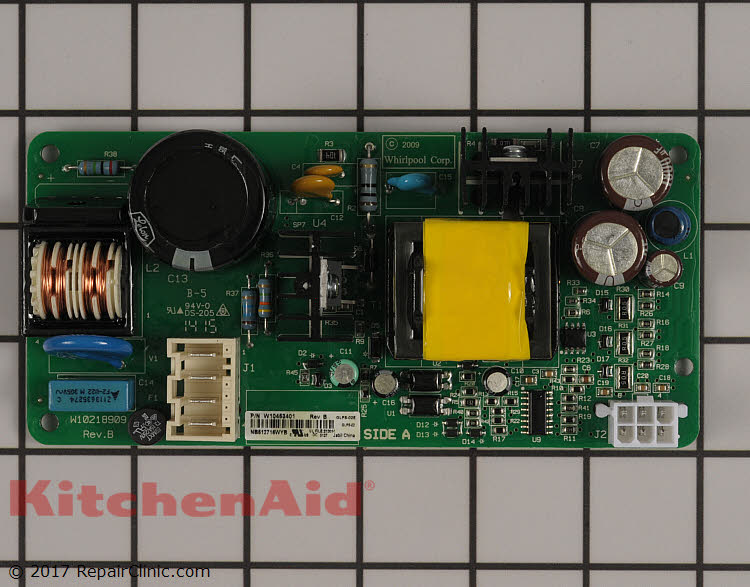Power Supply Board Wpw10453401 Kitchenaid Replacement Parts