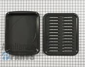 Broiler Pan - Part # 3436860 Mfg Part # 5304494997